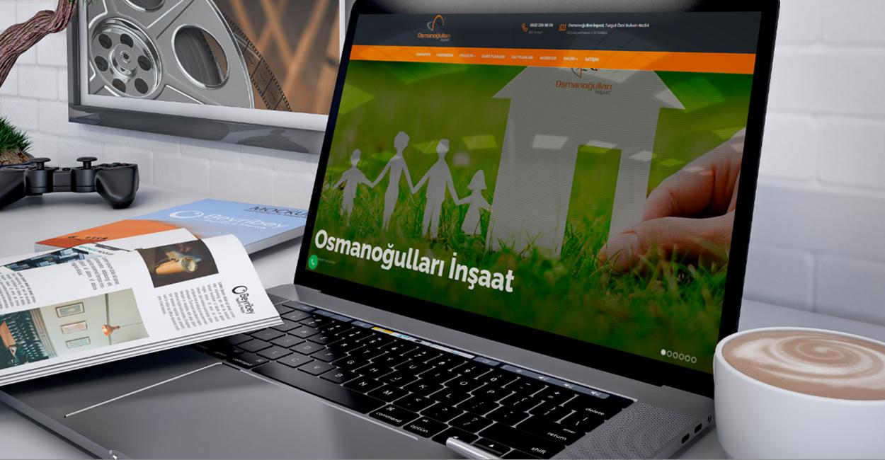 Osmanoğulları İnşaat - Kurumsal Web sitesi